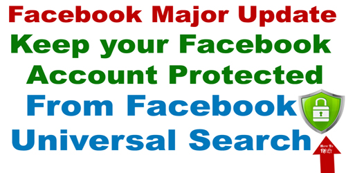 Facebook Major Update Protect Yourself From Public