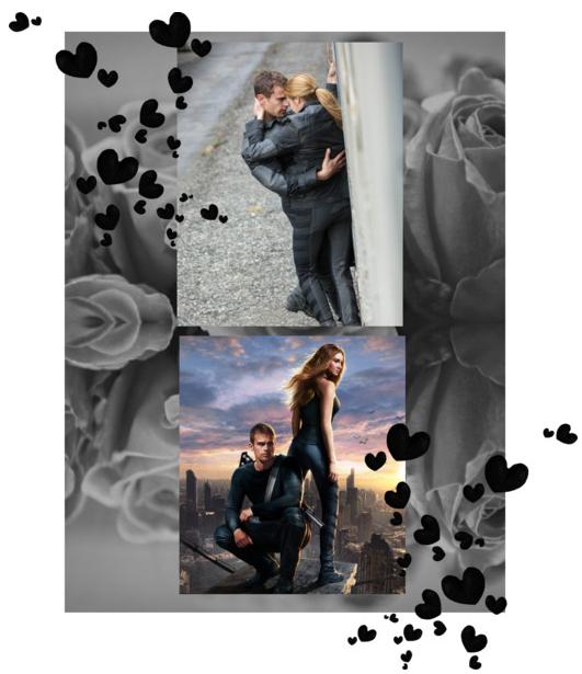 Divergent, Shailene Woodley, Theo James, Divergent Romance, Divergent Love