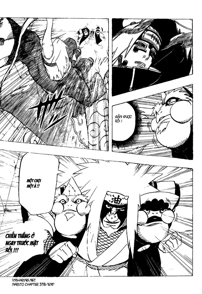 Naruto chap 378 Trang 17 - Mangak.info