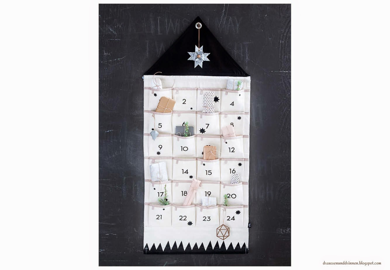 draussen und drinnen adventskalender 2014 oder warum ich kompromisse ausnahmsweise richtig. Black Bedroom Furniture Sets. Home Design Ideas