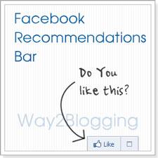 Facebook Recommendations Bar