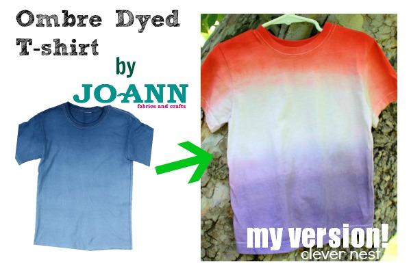 ombre dyed t-shirt #fourthofjuly #redwhiteandblue #patriotic #summer