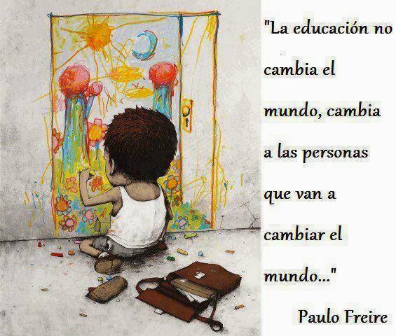 La educación, el motor del cambio