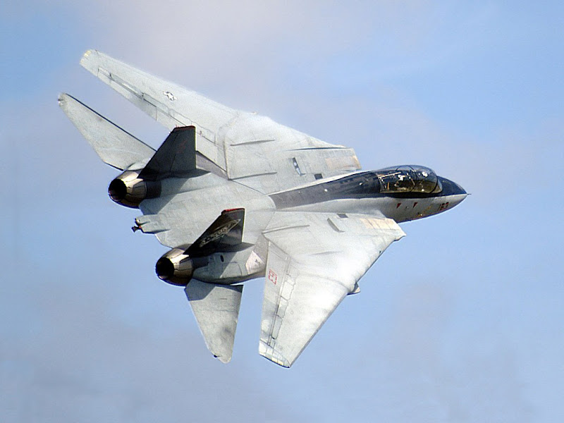 F-14 Tomcat Supersonic Aircraft