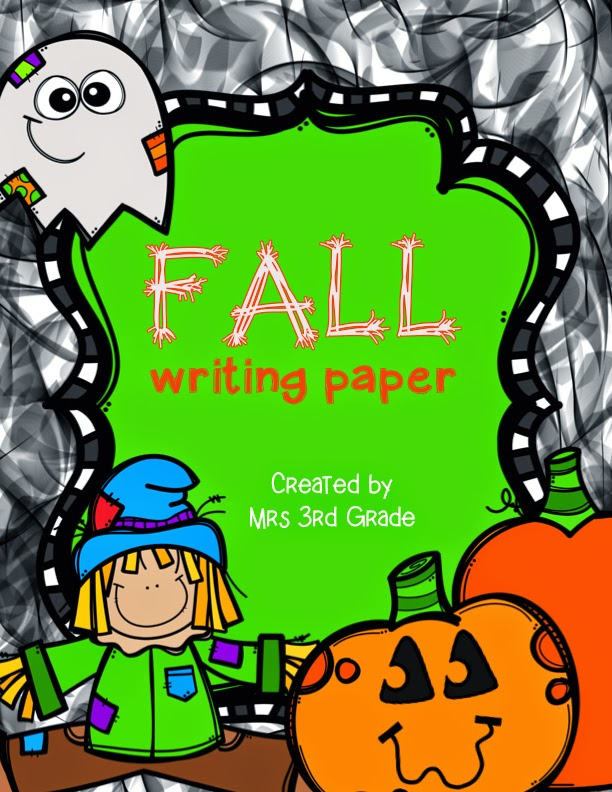 FREEBIE Fall Writing Paper