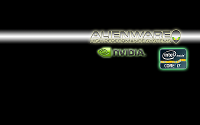 Alienware Nvdia intel Core i7 High Performance system wallpaper