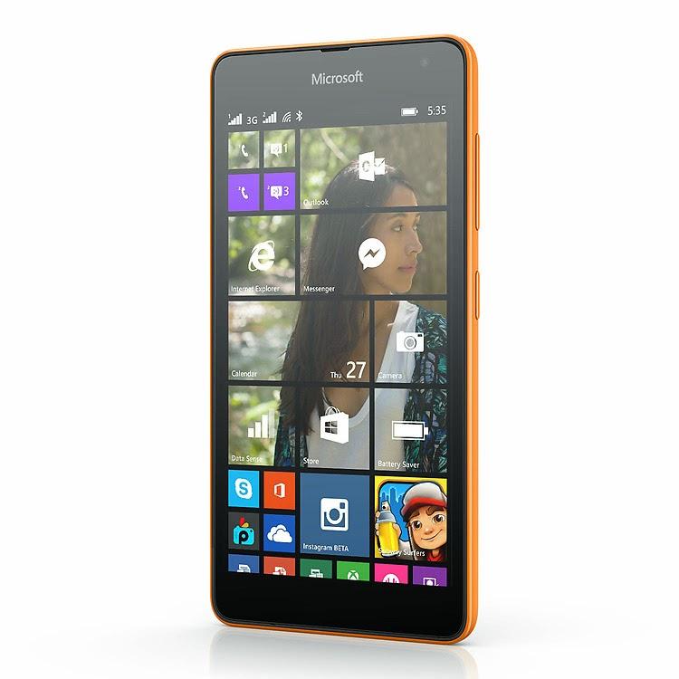 Microsoft Lumia 535 Dual SIM Specs & Price in Nigeria