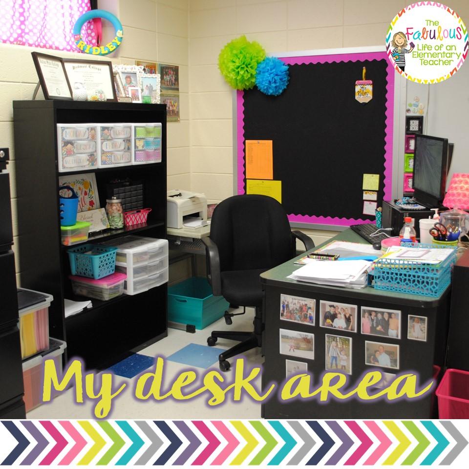 Classroom Desk Organization Ideas Pinterest: The Primary Peach: Sneak A Peek With A Peach: The Fabulous