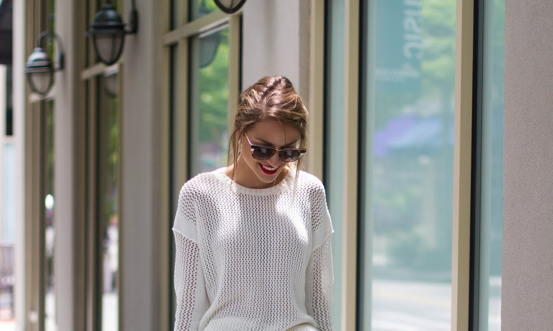 Embroidered Skirt : Hinge