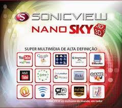 ATUALIZAÇÃO SONIC VIEW NANO 3D MULTIMÍDIA 06/02/2014