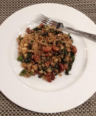 quinoa kale cashew salad