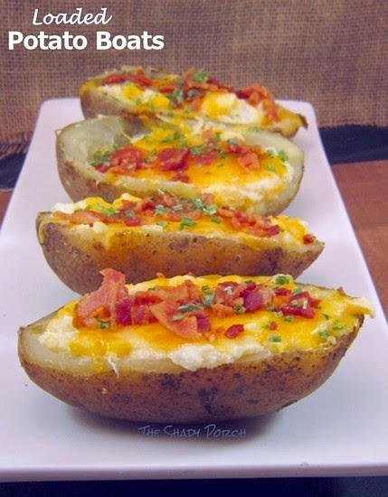Loaded Potato Boats
