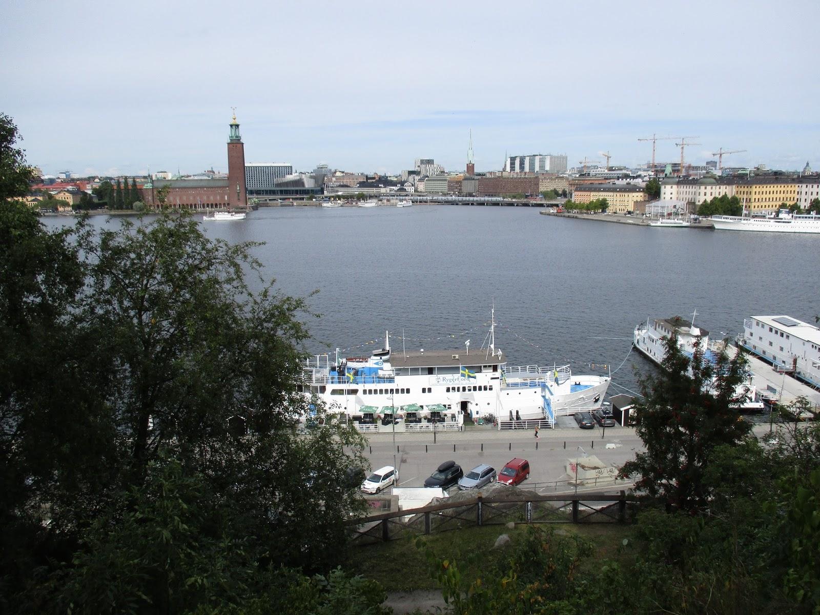 lunch ledsagare svälja i Stockholm