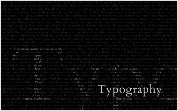 typographic wallpapers