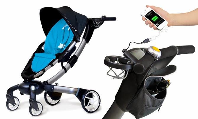 Tecnología habitual: Cargar el móvil con el carrito del bebé