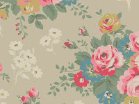 Rose Bunch Cath Kidston Desktop Wallpaper | Free Downloads