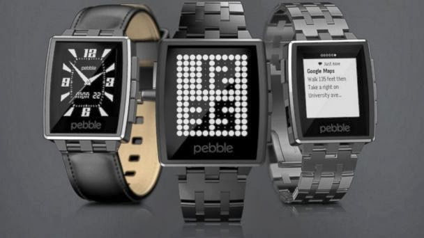 Pebble Steel, CES 2014, smart watch, smartwatch