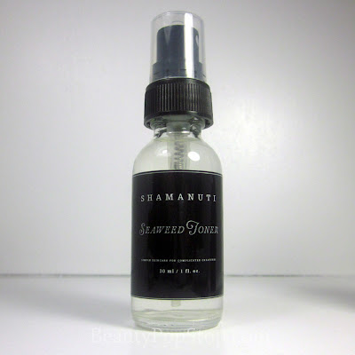 Shamanuti Seaweed Toner Review natural skin care
