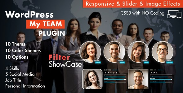 My Team Showcase WordPress Plugin v2.4