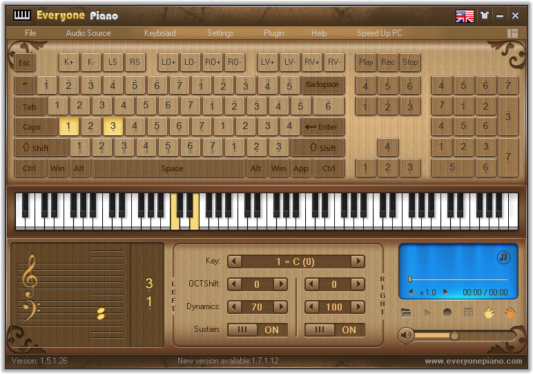 Virtual Keyboard Everyone Piano 1.7.1.12 Terbaru