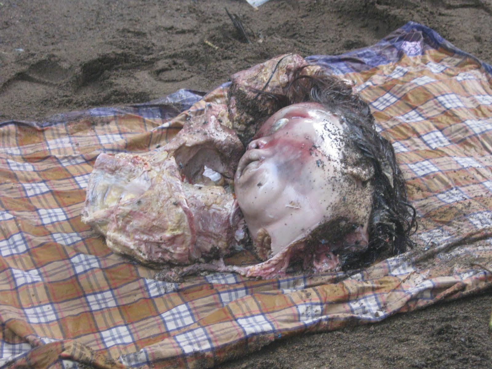 warga Pameungpeuk digegerkan dengan penemuan mayat di bawah kolong