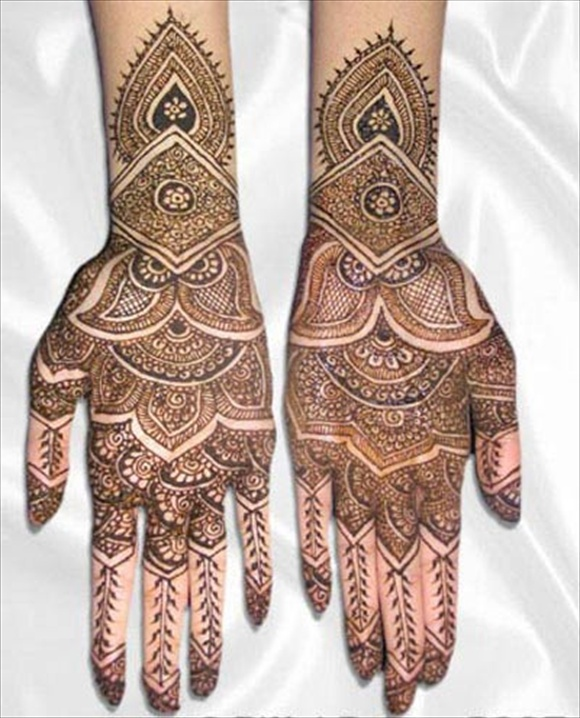 bridal arabic mehndi designs for hands