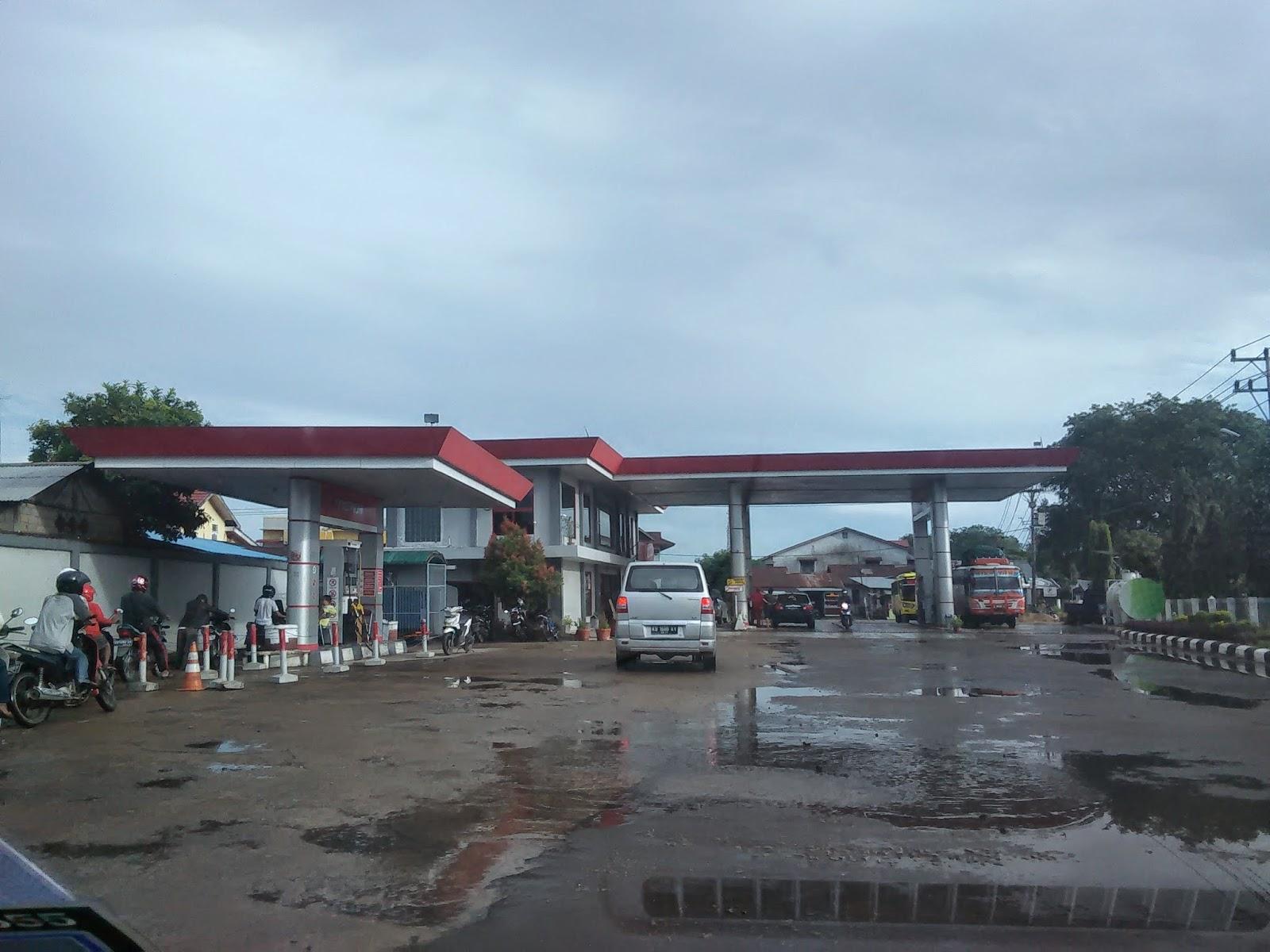 Pertamina yang paling hampir dengan bandar Pontianak sebelum perjalanan pulang ke Malaysia