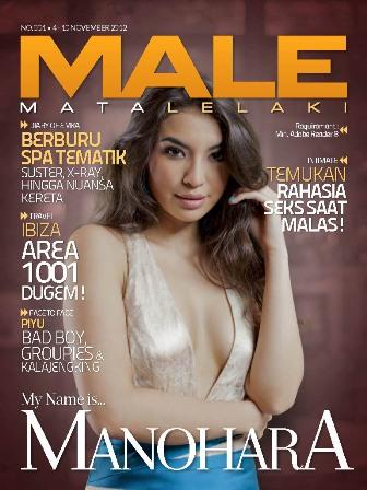 MALE Edisi 001 - Manohara Odelia Pinot