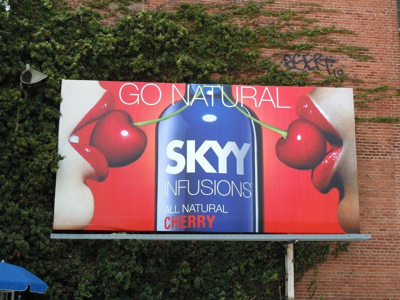 Skyy Vodka cherry billboard