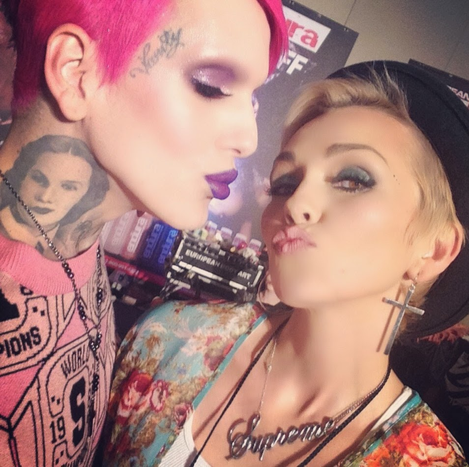 Jeffree star makeup 2013