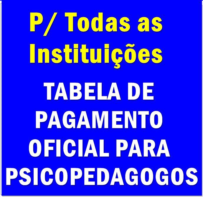 TABELA DE ATENDIMENTO E SESSÕES