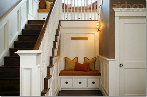 Home design interior design ideas for small hall stairs - Home designer stairs with landing ...