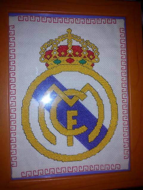 Escudo del real madrid en punto de cruz gratis - Imagui