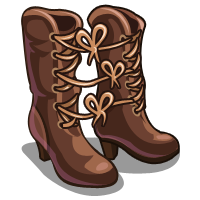 FarmVille Tied Boot Strings