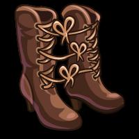 FarmVille Tied Boot Strings