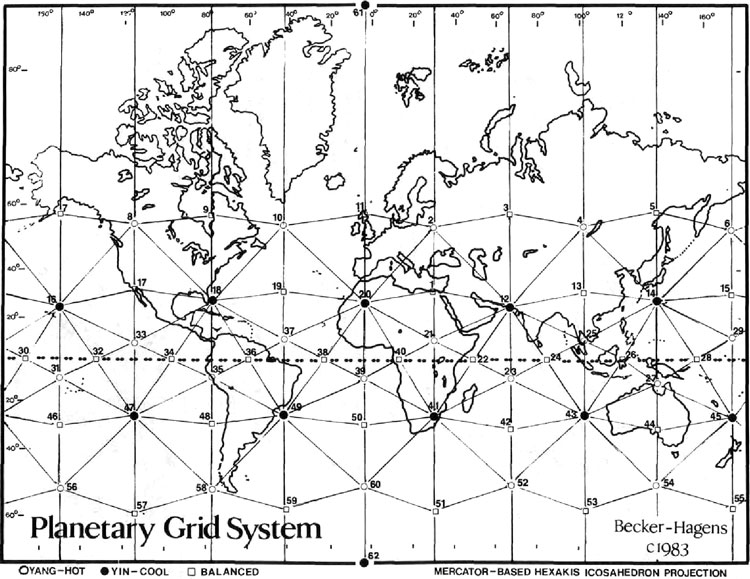 Ley Line Maps - Directory of Sacred.
