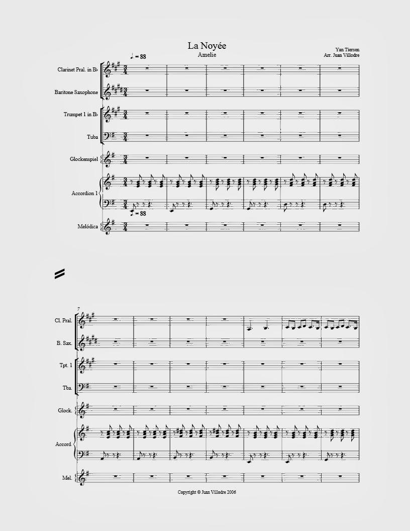 partituras para la armonica: