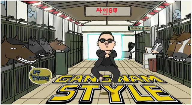 Lirik Lagu dan Video PSY Gangnam Style (강남스타일)