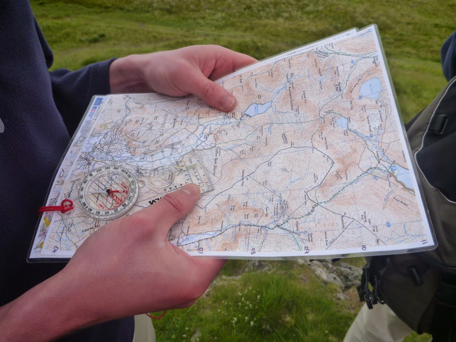 Introduction to Map- and Compass-Skills Course - L.L.Bean