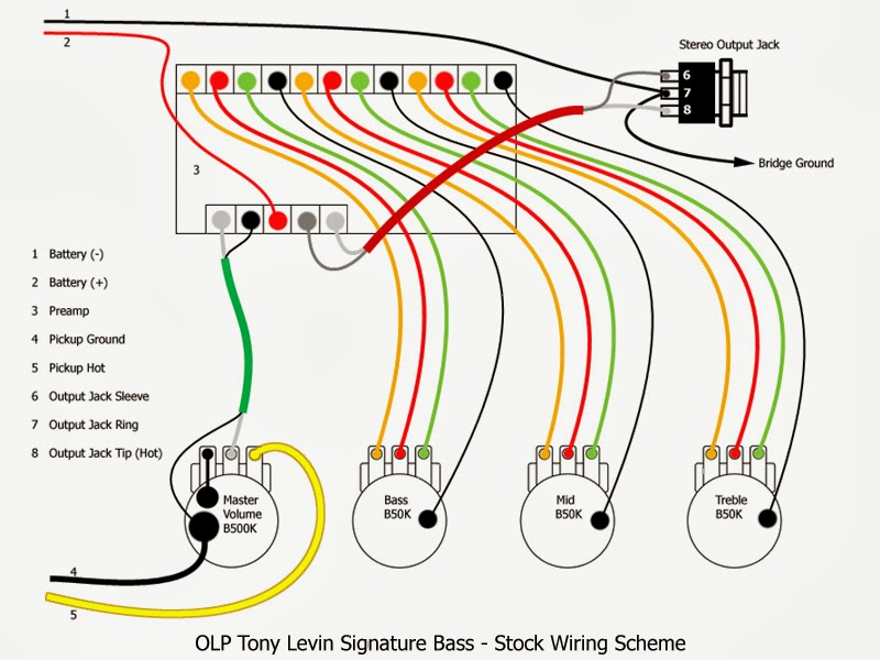 ca gear blog olp tony levin signature 5 string bass olp tony levin signature 5 string bass quilted maple natural stock wiring scheme