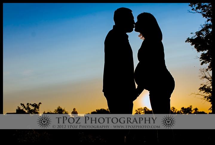 Cylburn Arboretum Maternity Silhouette Photos