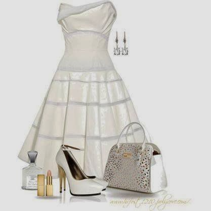 Bag, Shoes, Earrings, Dress...