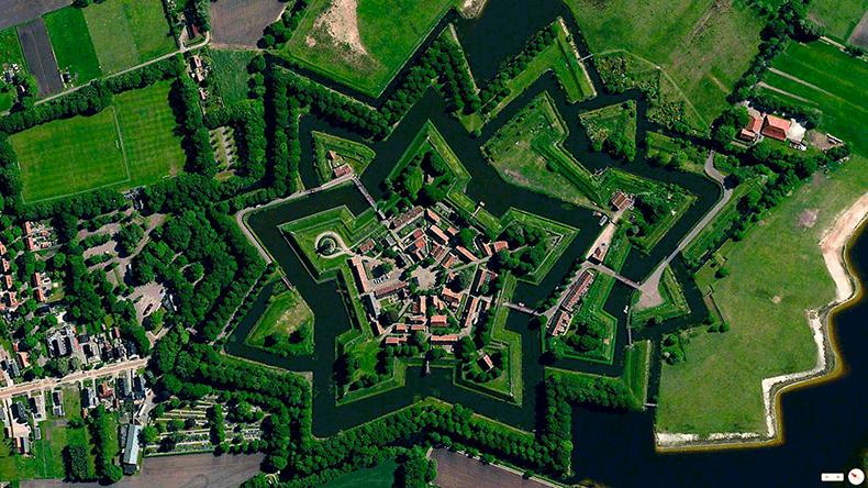 Foto mozzafiato: Olanda: Bourtange, Vlagtwedde