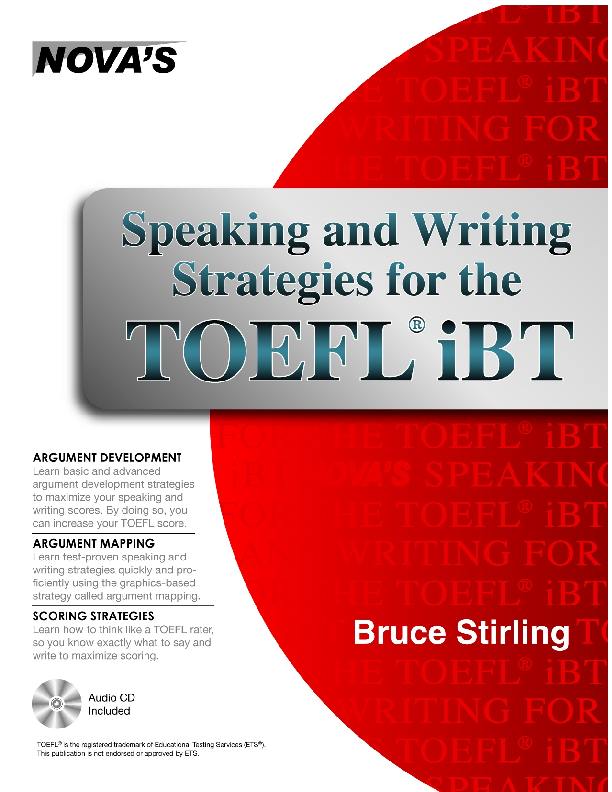 writing tips for toefl ibt Essay writing - free sample of our download to improve your essay examination performance tips for preparing and studying for all exam writing tasks.