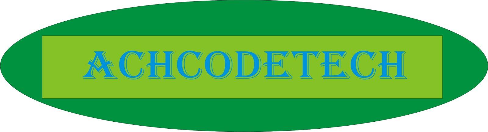 AchCodeTech