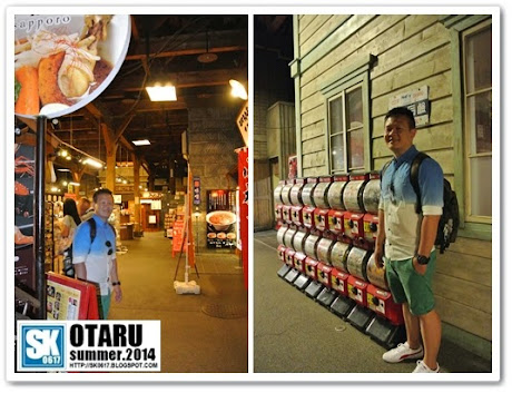Otaru Japan - Inside one of the warehouse-converted shops along Otaru Canal