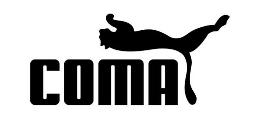 20 Logo Plesetan dari Perusahaan-Perusahaan Terkenal di Dunia: Puma - Coma