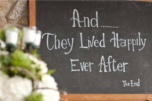 And They Lived Happily Ever After - The End