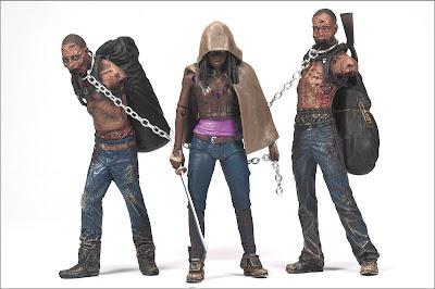 McFarlane Toys The Walking Dead Michonne & Pets figures