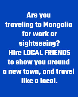 Need translator/guide in Mongolia? Hire locals